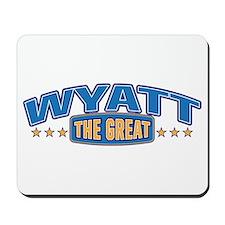 The Great Wyatt Mousepad