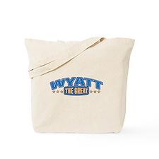 The Great Wyatt Tote Bag