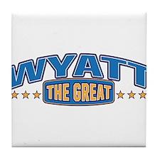 The Great Wyatt Tile Coaster