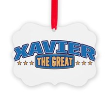 The Great Xavier Ornament