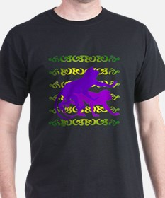 Purple Monkey Scroll T-Shirt