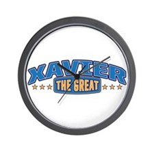 The Great Xavier Wall Clock