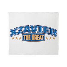 The Great Xzavier Throw Blanket