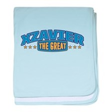 The Great Xzavier baby blanket