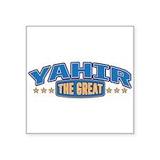 The Great Yahir Sticker
