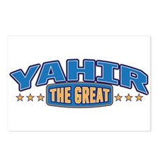 The Great Yahir Postcards (Package of 8)