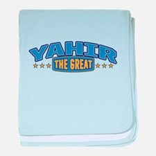 The Great Yahir baby blanket