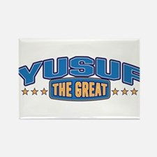 The Great Yusuf Rectangle Magnet
