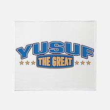 The Great Yusuf Throw Blanket