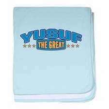 The Great Yusuf baby blanket