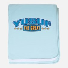 The Great Yusuf baby blanket