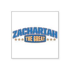 The Great Zachariah Sticker