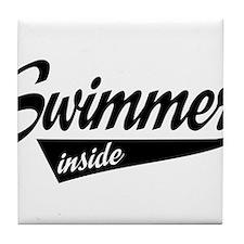 swimmer inside Tile Coaster