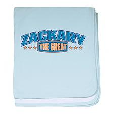 The Great Zackary baby blanket