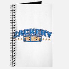 The Great Zackery Journal