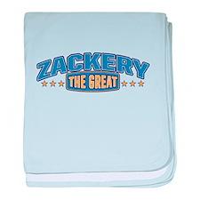 The Great Zackery baby blanket
