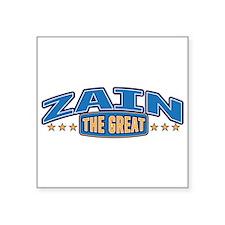 The Great Zain Sticker