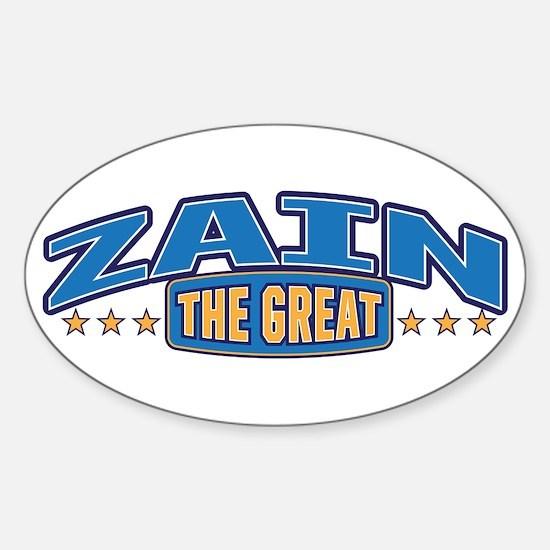 The Great Zain Decal