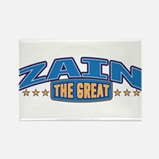 The Great Zain Rectangle Magnet