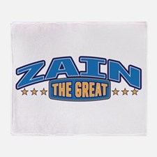 The Great Zain Throw Blanket