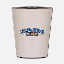 The Great Zain Shot Glass