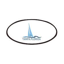 Tampa Florida - Sailing Design. Patches