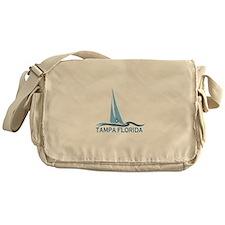 Tampa Florida - Sailing Design. Messenger Bag
