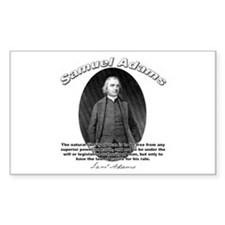 Samuel Adams 02 Rectangle Decal