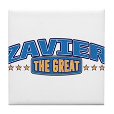 The Great Zavier Tile Coaster