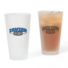 The Great Zavier Drinking Glass