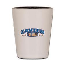 The Great Zavier Shot Glass