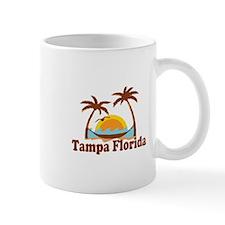 Tampa Florida - Palm Trees Design. Mug