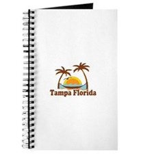 Tampa Florida - Palm Trees Design. Journal