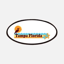 Tampa Florida - Beach Design. Patches