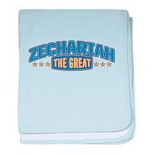 The Great Zechariah baby blanket