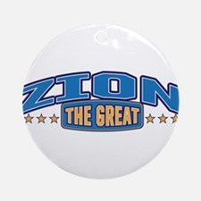 The Great Zion Ornament (Round)