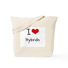 I Love Hybrids Tote Bag