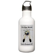 One World Logo Water Bottle