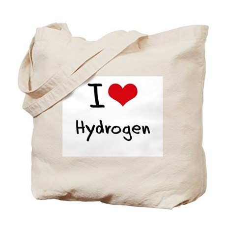 I Love Hydrogen Tote Bag