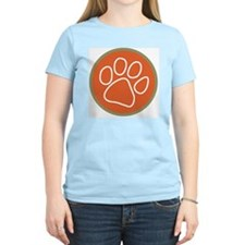 Paw print logo Front/Back T-Shirt