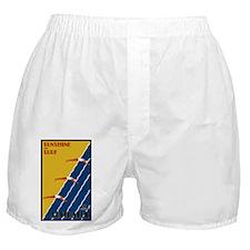 Vintage Australia Travel Boxer Shorts