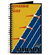 Vintage Australia Travel Journal