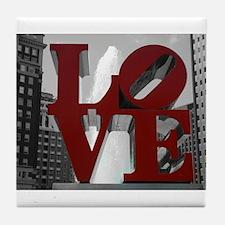Love @ 1st Sight Tile Coaster
