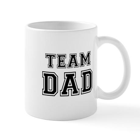 Team Dad Small Mug