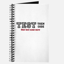test then code Journal
