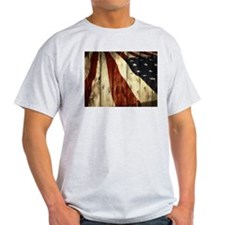 Bleeding Red, White, and Blue T-Shirt