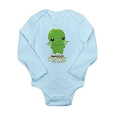 Cute Cthulhu Long Sleeve Infant Bodysuit