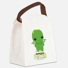 Cute Cthulhu Canvas Lunch Bag
