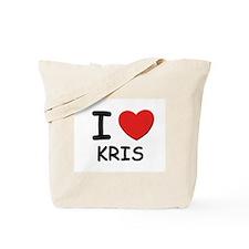 I love Kris Tote Bag