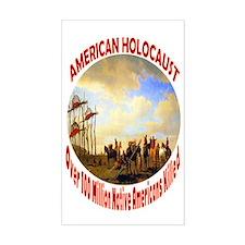 American Holocaust Decal